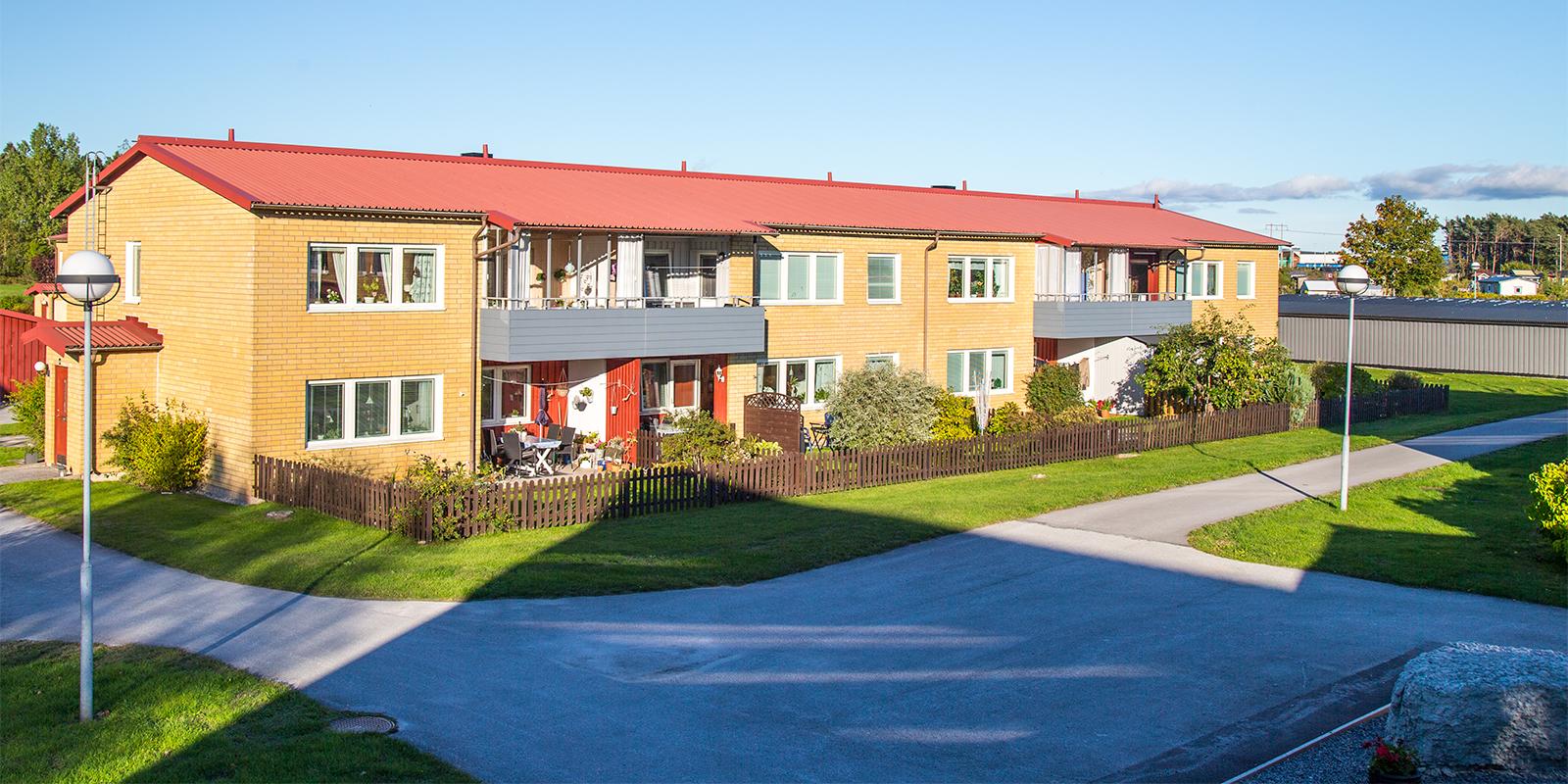 Brf Skäran - naturnära och barnvänligt i södra Visby